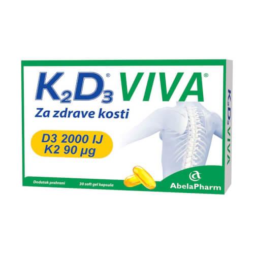 Abela Pharm Herbiko K2D3 VIVA 30 kapsula