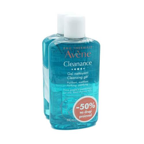 Avene Cleanance gel za čišćenje DUO 2 x 200 ml