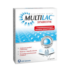 Genexo Sp. z.o.o. Multilac kapsule 10 kapsula