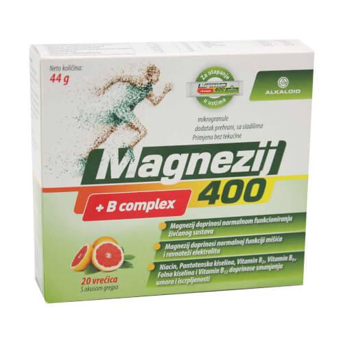 Alkaloid Magnezij 400 20 vrećica