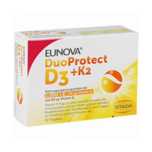 Hemofarm DuoProtect D3 + K2  (1.000 IU) 30 kapsula