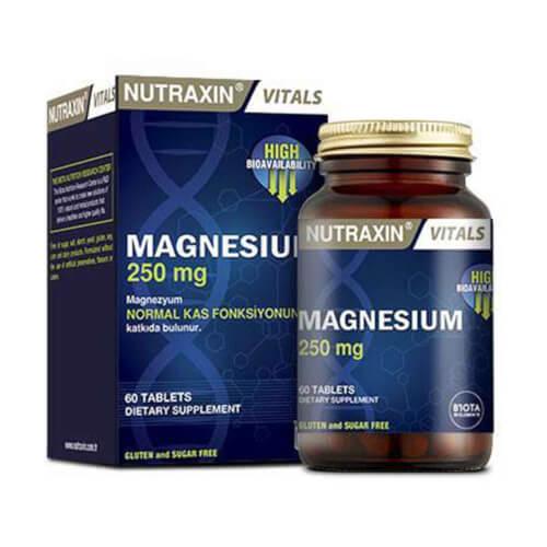 Nutraxin Magnezij 250mg 60 tableta