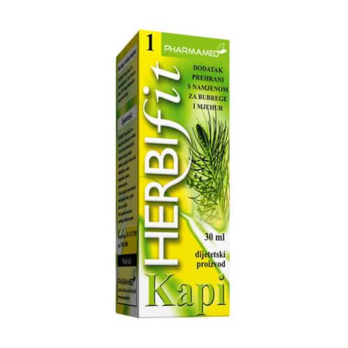 Pharmamed Herbifit 1 kapi za bubrege i mjehur 30ml