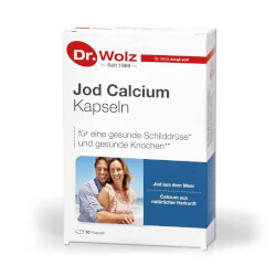 Dr.Wolz Jod Kalcij kapsule 60 kapsula