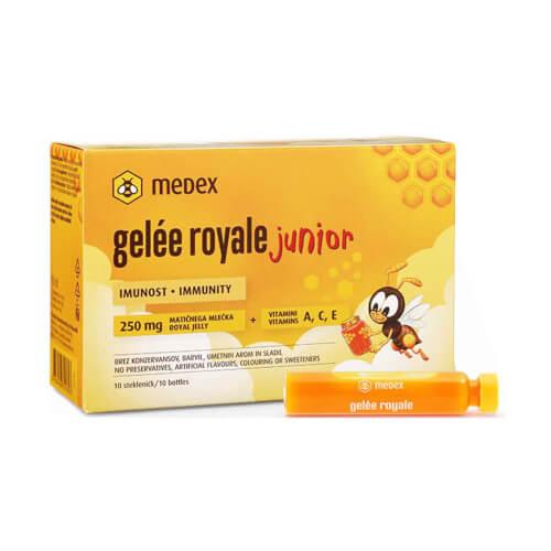 Medex Gelee Royale Junior 250mg 10 ampula