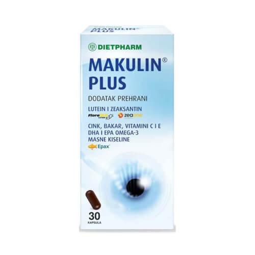 Dietpharm Makulin plus 30 kapsula