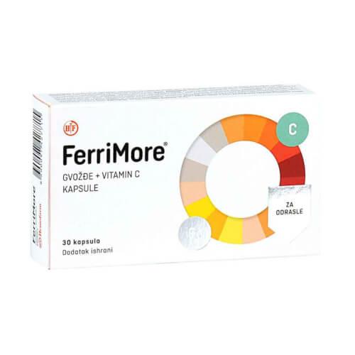 Hemofarm FerriMore kapsule 30 kapsula