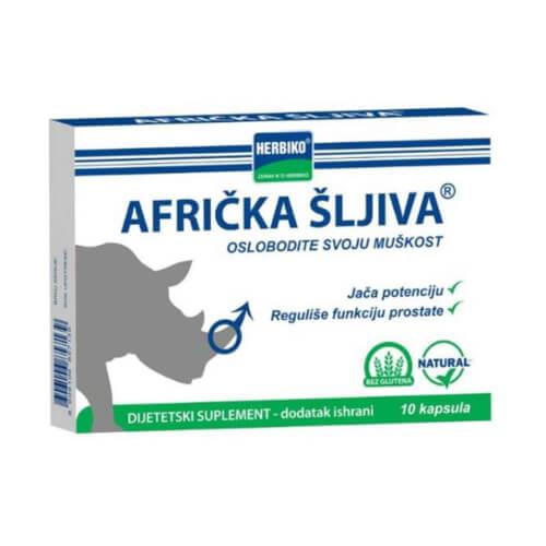Abela Pharm Afrička šljiva kapsule 10 kapsula