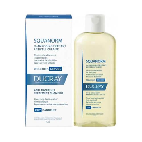 Ducray Squanorm šampon protiv masne peruti 200ml