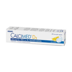 Hermes Calcimed D3 20 šumećih tableta