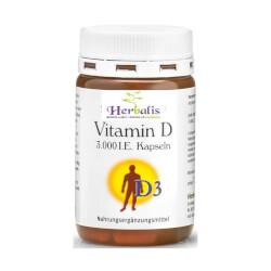 Krauterhof Vitamin D3 3000 IU kapsule 120 kapsula