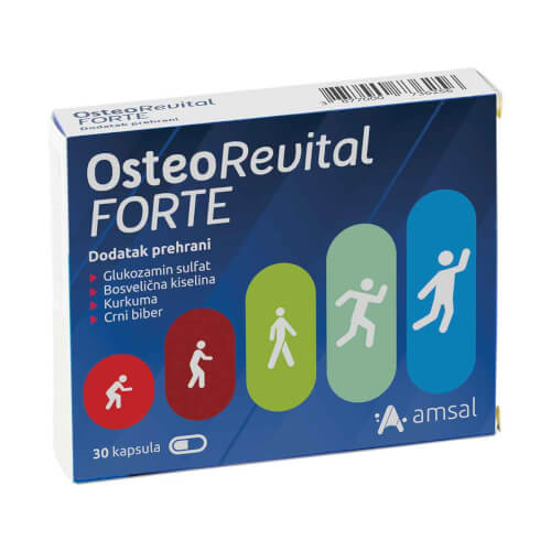 Amsal OsteoRevital FORTE kapsule 30 kapsula