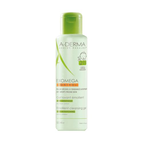 A-Derma Exomega Control gel za čišćenje 2u1 500ml