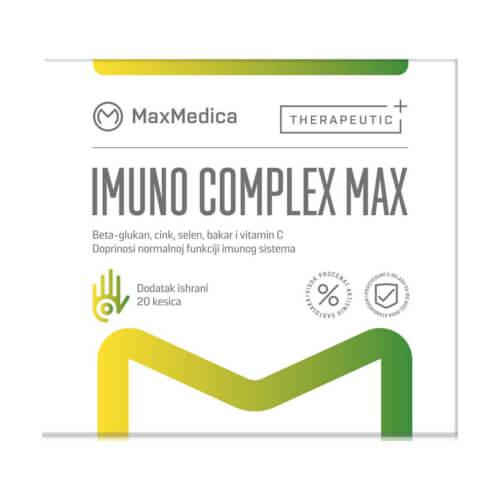 MaxMedica Imuno Complex Max 20 vrećica