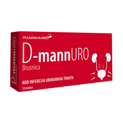 Pharmamed D-mannURO prašak 13 vrećica