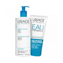 Uriage Pjenušava emulzija za pranje + Losion za njegu tijela GRATIS 500 ml + 200 ml
