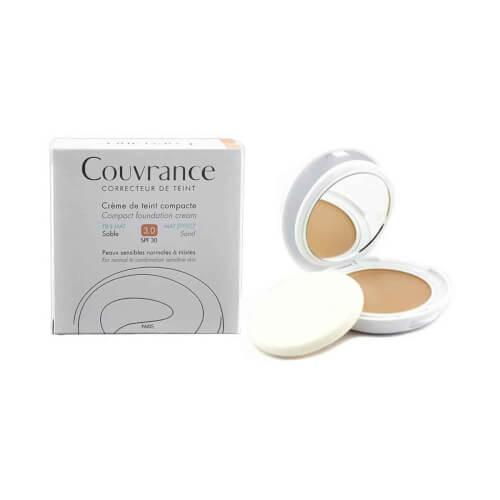 Avene Couvrance kompaktna obojena krema MAT 3.0 Sand 10g
