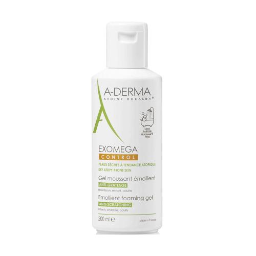 A-Derma Exomega Control pjenušavi gel 200ml