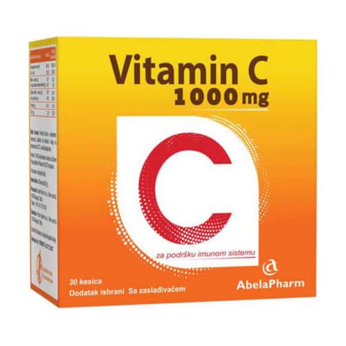Abela Pharm Vitamin C 1000mg vrećice 30 vrećica