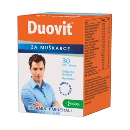 Krka Duovit za muškarce 30 tableta