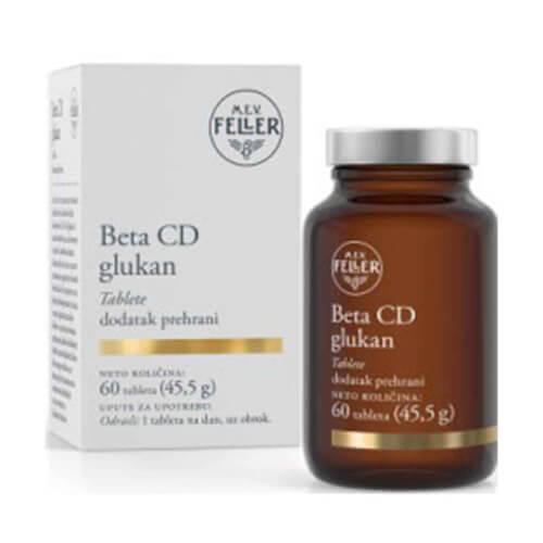 M.E.V. FELLER Beta CD glukan 60 tableta