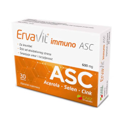 GMZ Ervamatin Ervavit immuno Acerola-Selen-Cink 30 kapsula
