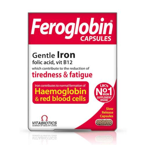 Vitabiotics Feroglobin kapsule 30 kapsula