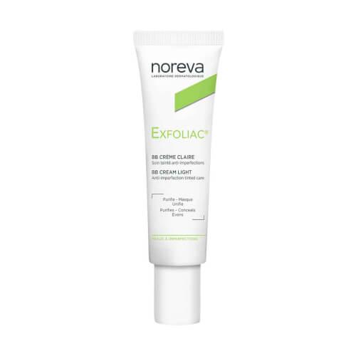 Noreva Exfoliac tonirana BB krema LIGHT 30ml