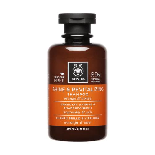 Apivita Šampon za sjaj i revitalizaciju s narančom i medom 150ml