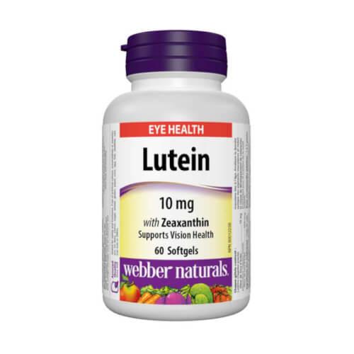 Webber Naturals Lutein 10mg 60 kapsula