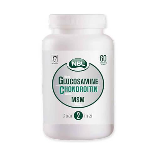 Nobel NBL Glucosamine Chondroitin MSM 60 film tableta