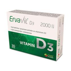 GMZ Ervamatin ErvaVit D3 2000 IU 30 kapsula