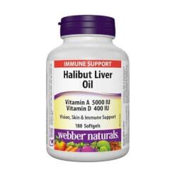 Webber Naturals Ulja iz jetre iverka 180 kapsula