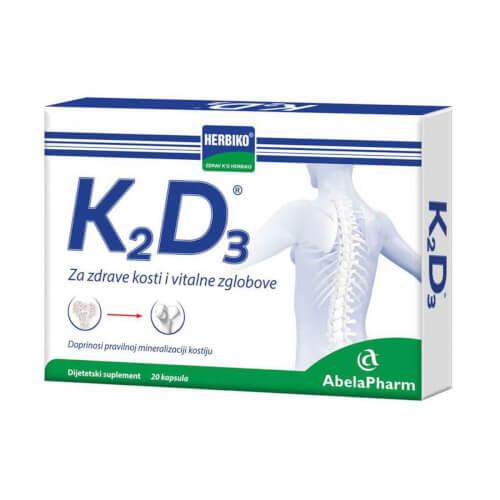 Abela Pharm Herbiko K2D3 20 kapsula