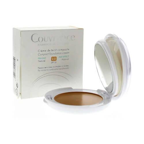 Avene Couvrance kompaktna obojena krema MAT 2.0 Natural 10g
