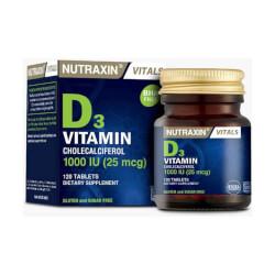 Nutraxin Vitamin D3 1000IU 120 tableta