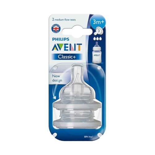 AVENT Sisač Classic Anti-colic 3+ 2 komada