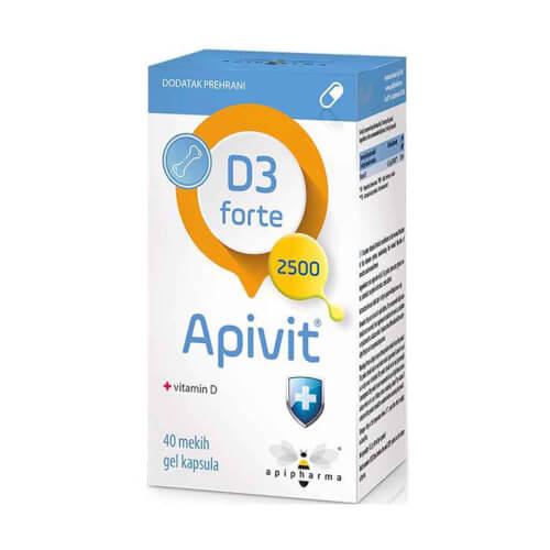 Apipharma Apivit D3 Forte 40 kapsula