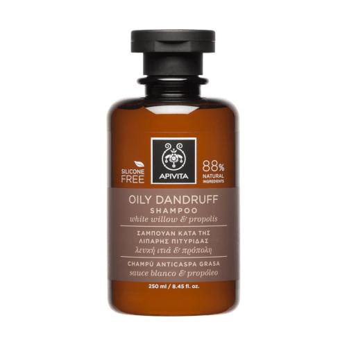 Apivita Šampon protiv masne peruti s bijelom vrbom i propolisom 150ml