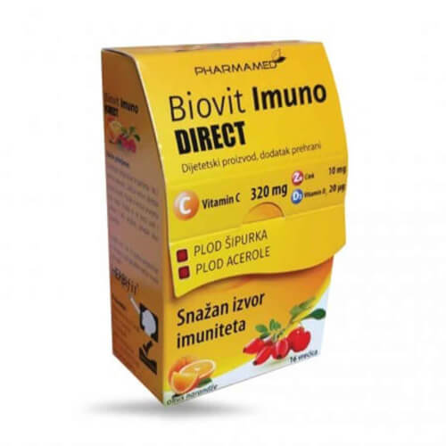 Pharmamed Biovit Imuno DIRECT 16 vrećica