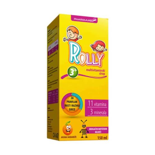 Pharmamed Rolly multivitaminski sirup 150ml