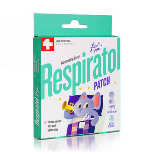 4U Pharma Respiratol flaster 5 flastera