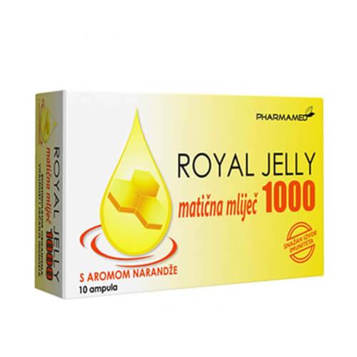Pharmamed Royal Jelly 1000mg 10 ampula