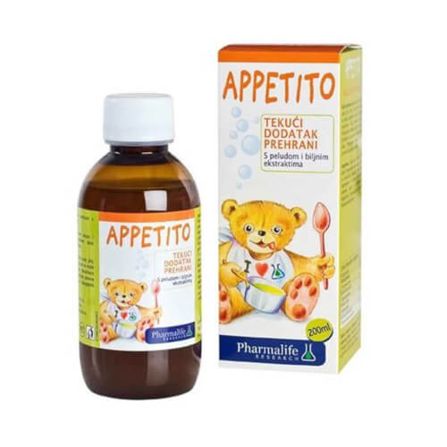 Pharmalife Appetito sirup 200ml