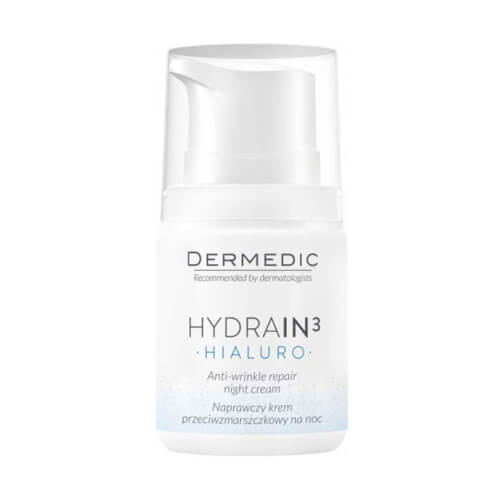 Dermedic Hydrain 3 noćna krema protiv bora 55ml