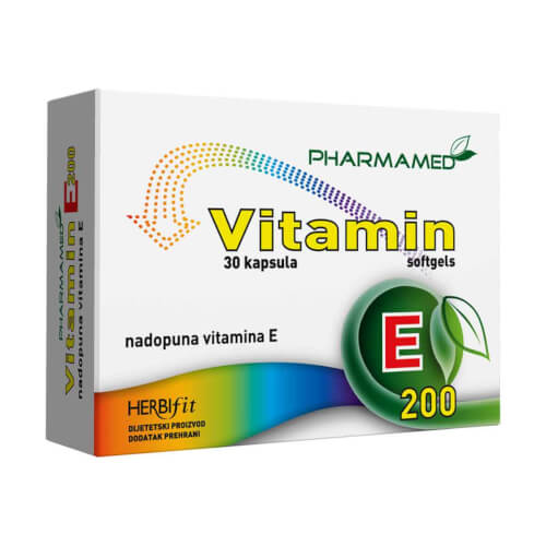 Pharmamed Vitamin E 200 30 kapsula