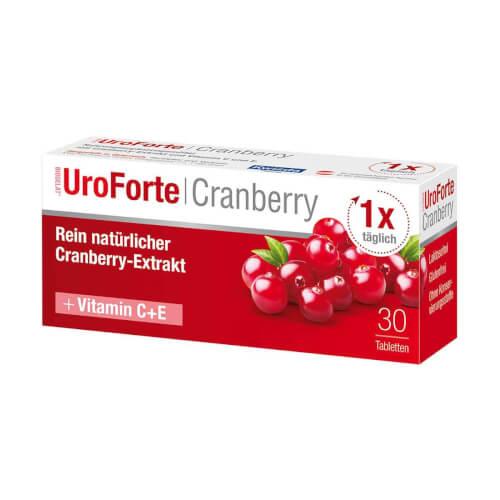 Kwizda Brusnica UroForte tablete 30 obloženih tableta
