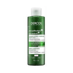 Vichy Dercos piling šampon protiv prijanjajuće peruti i sebuma 250ml
