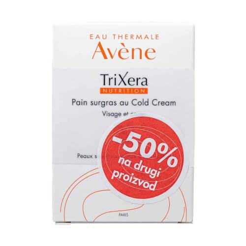 Avene TriXera Nutrition vrlo bogati sindet za čišćenje s cold kremom DUO 2 x 100g
