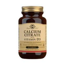 Solgar Kalcij citrat plus D3 vitamin 60 tableta